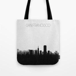 City Skylines: San Francisco Tote Bag