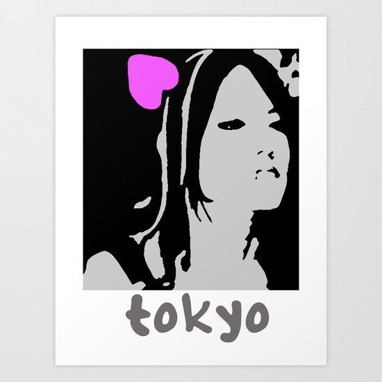 Love Tokyo Art Print