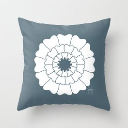 Bloomin Smile Throw Pillow