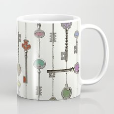Love is the Key Mug