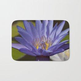 Purple Waterlily Bath Mat