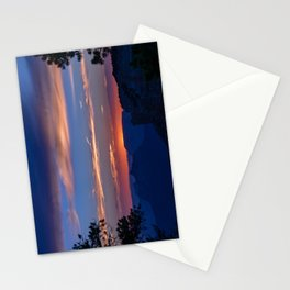 Colorful Sunset - North_Rim, Grand_Canyon, AZ Stationery Cards