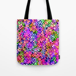 Swirly Twirly Colors Tote Bag