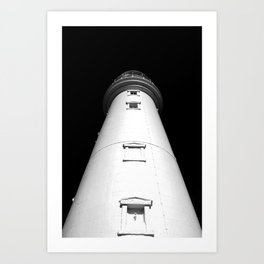 Keep Your Aim High (The Lighthouse) Art Print
