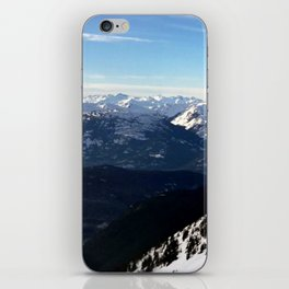 Crispy light air up here iPhone Skin