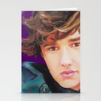 liam payne Stationery Cards featuring Liam Payne  by Tune In Apparel