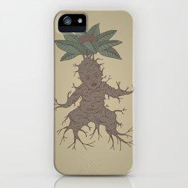 Mandragora iPhone Case