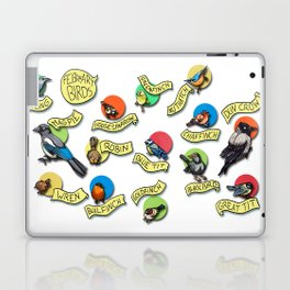February Birds -birds only Laptop & iPad Skin