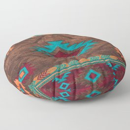 Bohemian Traditional Southwest Style Design Floor Pillow