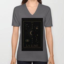 The Moon or La Lune Gold Edition Unisex V-Ausschnitt
