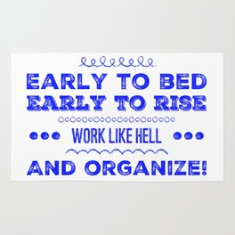 Work & Organize Rug