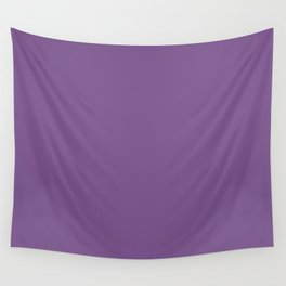Dark English Lavender 1 - Color Therapy Wall Tapestry