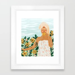 Earl Grey Framed Art Print