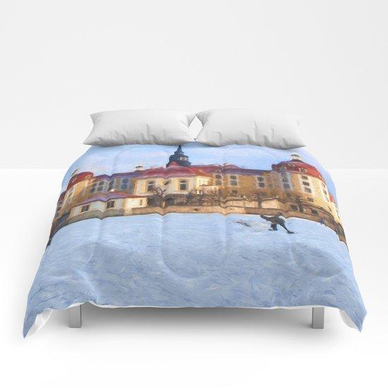 Cinderella´s fairytale castle Comforters