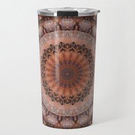 Mandala homely atmosphere Travel Mug