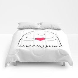 Love Ghostie Comforters