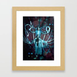 The Shibari Queen Framed Art Print