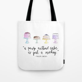 Cake Party Tote Bag