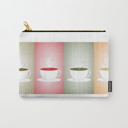 Tea Cups: Mate, Rooibos, Oolong, Matcha Carry-All Pouch