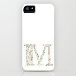 M of Leaves iPhone Case