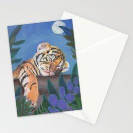 What Does the Tiger Dream? Stationery Cards