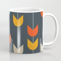 tulips Mugs featuring Tulips by Tracie Andrews