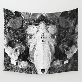 Watercolor Anthropomorphism 75 Wall Tapestry