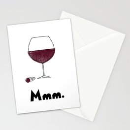 Mmm. Vin Stationery Cards