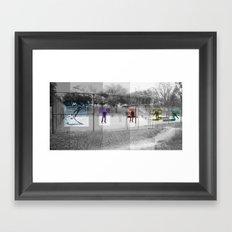 Skater Series #3 Framed Art Print