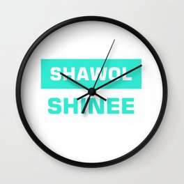 shawol shinee Wall Clock