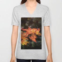 Autumn Blaze Maple Unisex V-Neck
