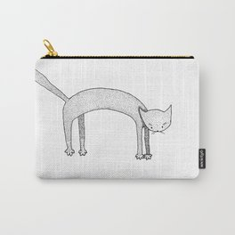 Leaping Cat Carry-All Pouch