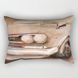 Datsun GTR Rectangular Pillow