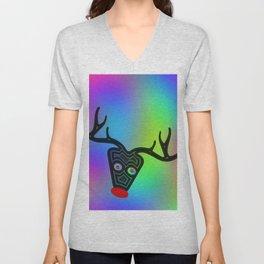Rudolf, the Ren ... Unisex V-Neck
