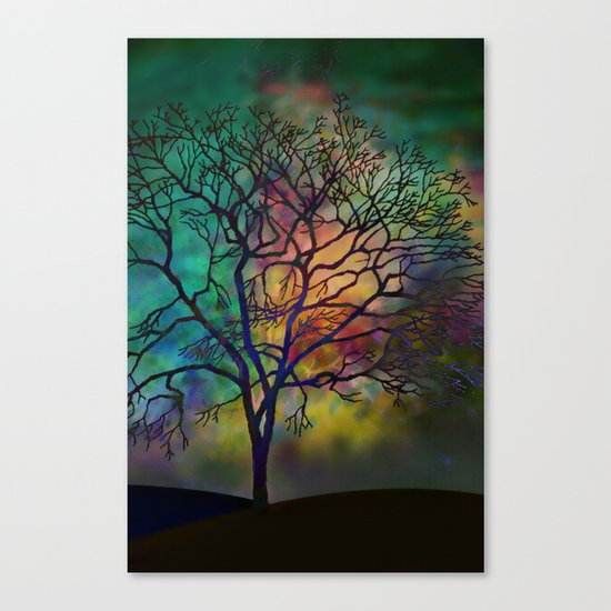 Celestial Phenomenon Canvas Print