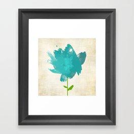 Blue Violet (mate) Framed Art Print