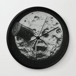 Georges Méliès A Trip To The Moon Wall Clock
