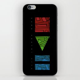 stop - play - pause iPhone Skin