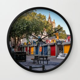 Norwich City's outdoor market of the year Wall Clock