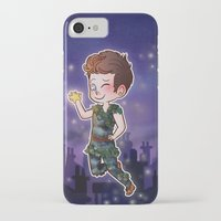 peter pan iPhone & iPod Cases featuring Peter Pan by Sunshunes
