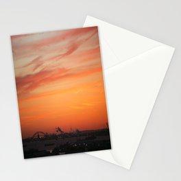 Sunset sky Stationery Cards