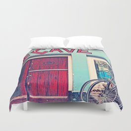 The Cave Duvet Cover
