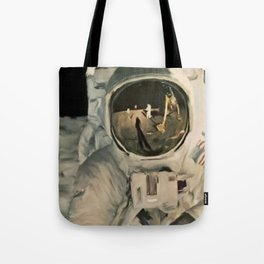 LIFE MAGAZINE: Moon Landing Tote Bag