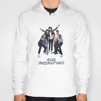 one direction Hoodies featuring One Direction by ezmaya