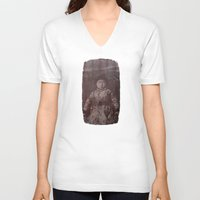 fear V-neck T-shirts featuring Fear by Last Call