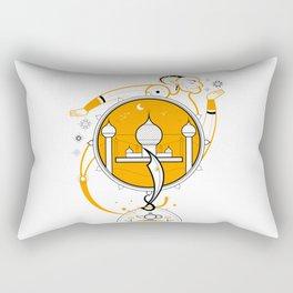 A Legend of Sand Rectangular Pillow