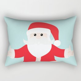 Christmas Santa Claus is Coming to Hug You Rectangular Pillow