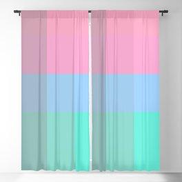 Colorful Pixel Patchwork Blackout Curtain