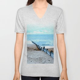Outlook over the North Sea Unisex V-Neck