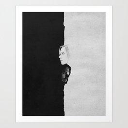 Bucky & Nat | Split Art Print